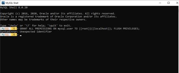 Bei MySQL kann man kein @ eingeben (phpmyadmin)?