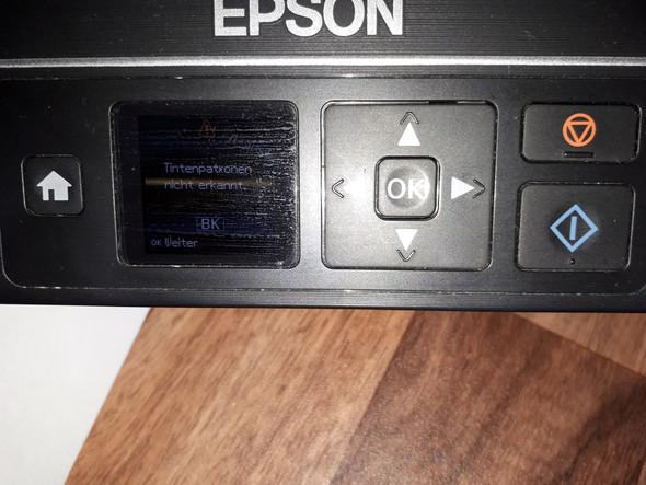 Beim Drucker scannen ohne Patrone?