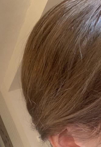 Aufhellen gefärbte haare Schwarz gefärbte