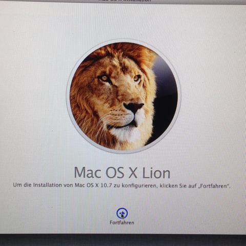 Mac OS X Lion - (Samsung, Installation, formatieren)