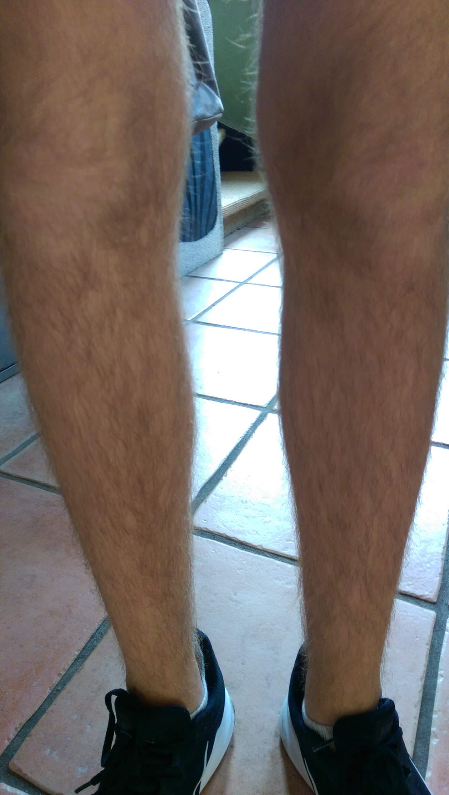 Kürzen männer beinhaare Haarentfernung bei