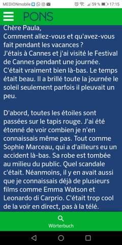 Beinhaltet Der Text Fehler Schule Französisch