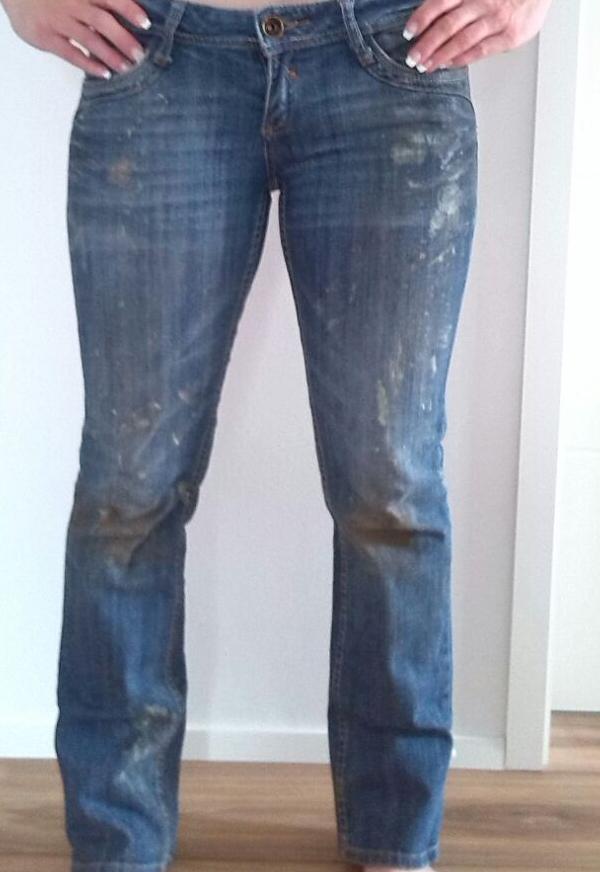 bekomme ich die paintball jeans wieder sauber versaut. Black Bedroom Furniture Sets. Home Design Ideas