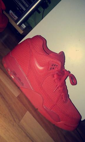 Macke (links unten) - (Schuhe, Nike, rot)