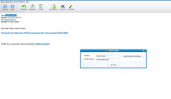 sma1 - (E-Mail, Post, Spam)