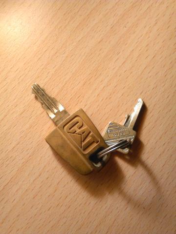 gefundener Schlüssel - (Schlüssel, Bauarbeiten, Belohnung)