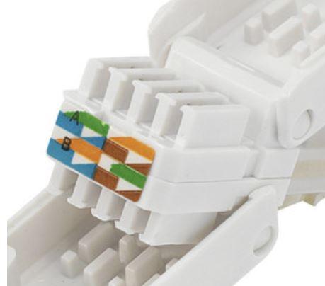 belegung rj45 stecker internet lan lan kabel. Black Bedroom Furniture Sets. Home Design Ideas