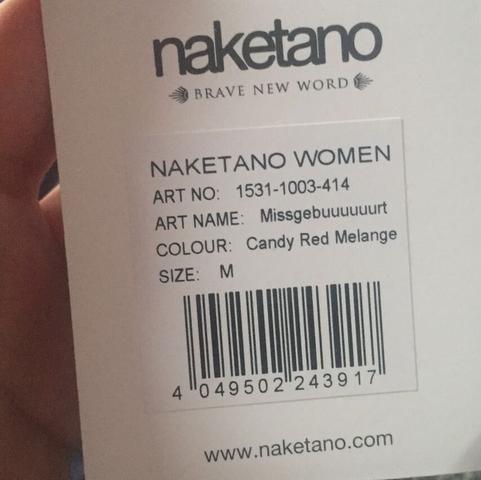 Beleidigung auf dem Etikett?