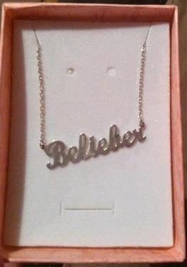"""Belieber""-Kette - (Schmuck, Kette, Justin Bieber)"