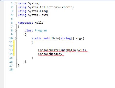 Der Text - (Programm, programmieren, Informatik)