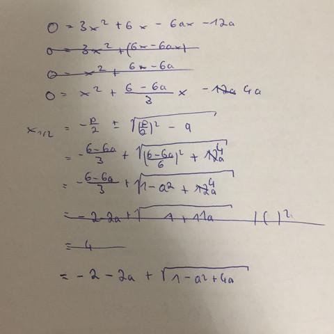 Meine versuchte Lösung  - (Schule, Mathe, Mathematik)