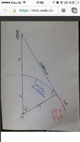 Winkel Phi berechnen  - (Mathematik, Physik, Satellit)
