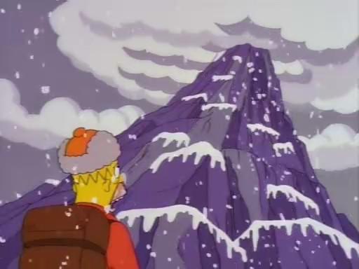 Dort wo der Schnee liegt und man per Hand klettern kann nennt sich ...? - (Berge, klettern, Plateau)