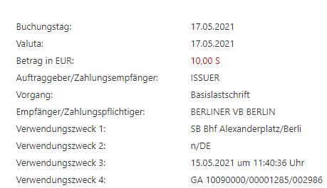 Berliner Volksbank bucht einfach ab?