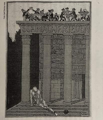 Beschreibung und Interpretation des Bildes/Karikatur (Geschichte)?