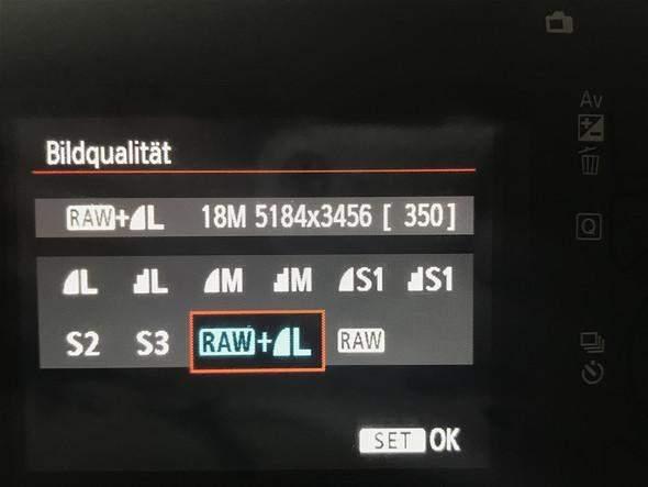 beste Bildqualität Canon eos 4000d?