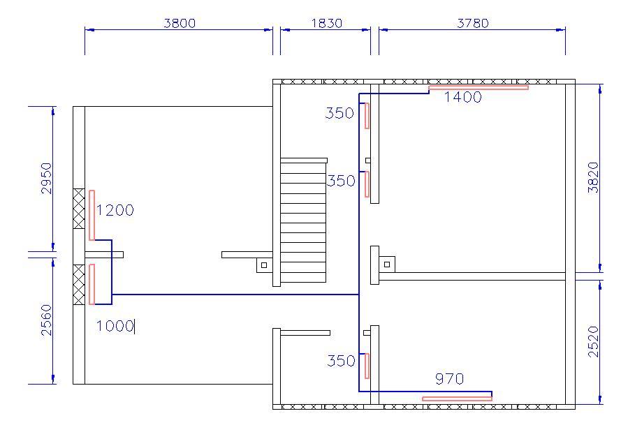 bestimmung der heizungsrohrgr e f r dg heizung heizk rper kupferrohr. Black Bedroom Furniture Sets. Home Design Ideas