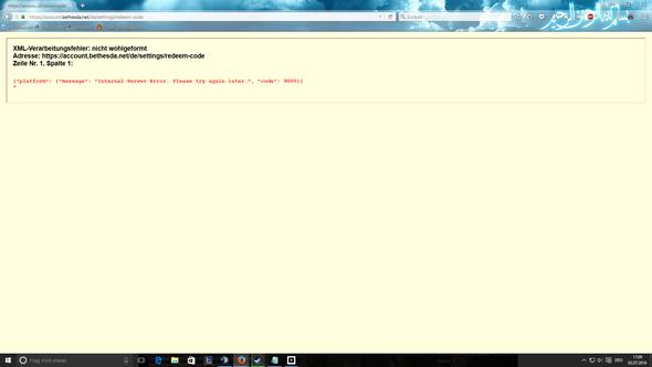 Fehlermeldung - (Bethesda, Elder Scrolls Online, Internal Server Error)