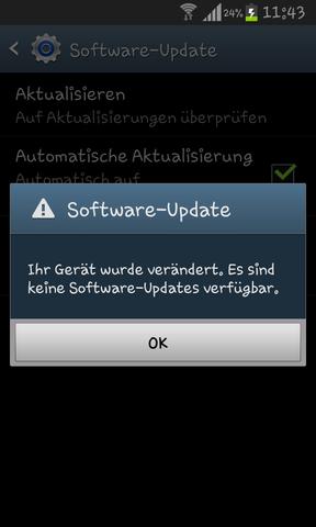 software update - (Computer, App, Samsung Galaxy S2)