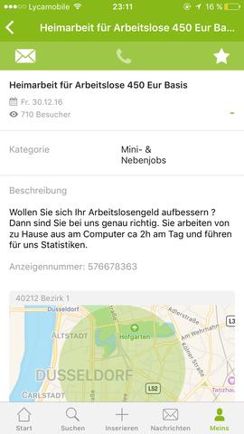 EBay Kleinanzeige heim Arbeit  - (eBay, Bankkonto)