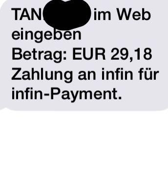 Das ist in der sms drinnen gesanden  - (Geld, Betrug, SMS)