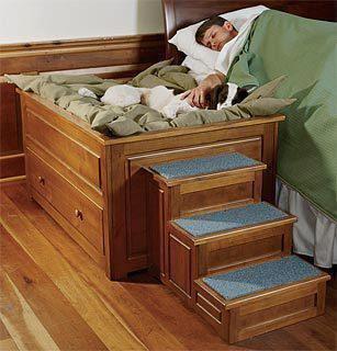 bettgestell f r hund und mensch menschen bett. Black Bedroom Furniture Sets. Home Design Ideas
