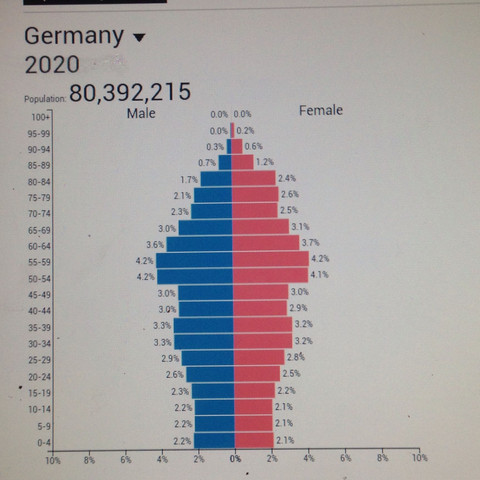 Bevolkerungspyramide Deutschland 2020 Falsch Schule Test