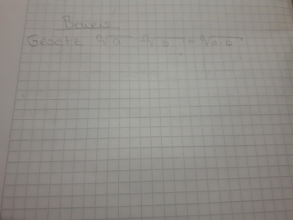 - (Schule, Mathe, Beweis)