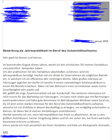 Bewerbung Automobilkaufmann In Ordnung Beruf Ausbildung Und