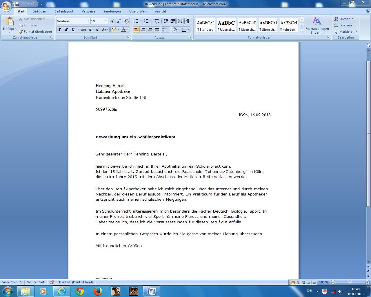 pka bewerbung marlpoint bewerbung als pharmazeutisch kaufmnnischer angestellter bewerbungsschreiben - Bewerbung Als Kaufmannische Angestellte