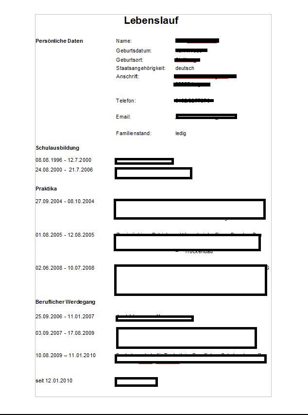 Bewerbung Per Email .. Wohin Kommt Das Bild? (Arbeit)