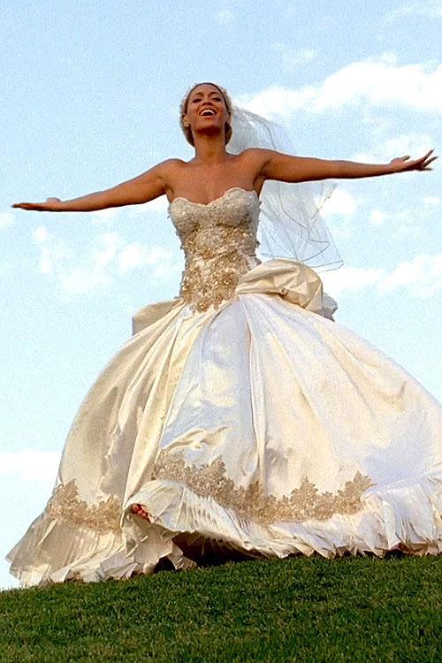 Beyonce Hochzeitskleid