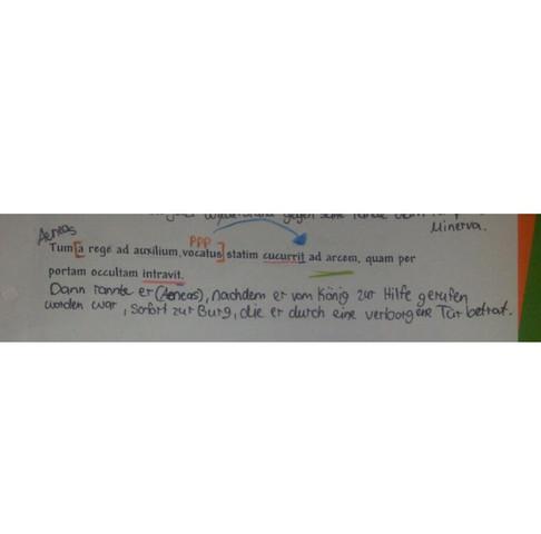 Ppp vor dem Bezugswort - (Latein, ppp)
