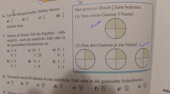 - (Mathe, Bruch)