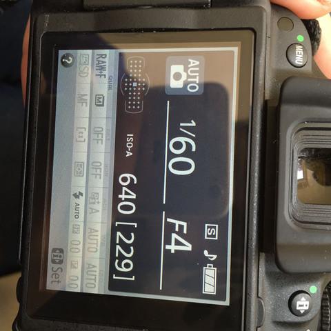 Statt den Informationen würde ich gerne die mögliche Aufnahme sehen können! - (Kamera, Nikon, d5200)