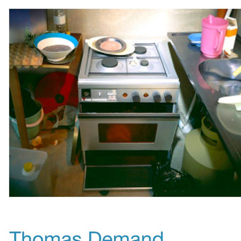Thomas demand  - (Schule, Studium, Bilder)