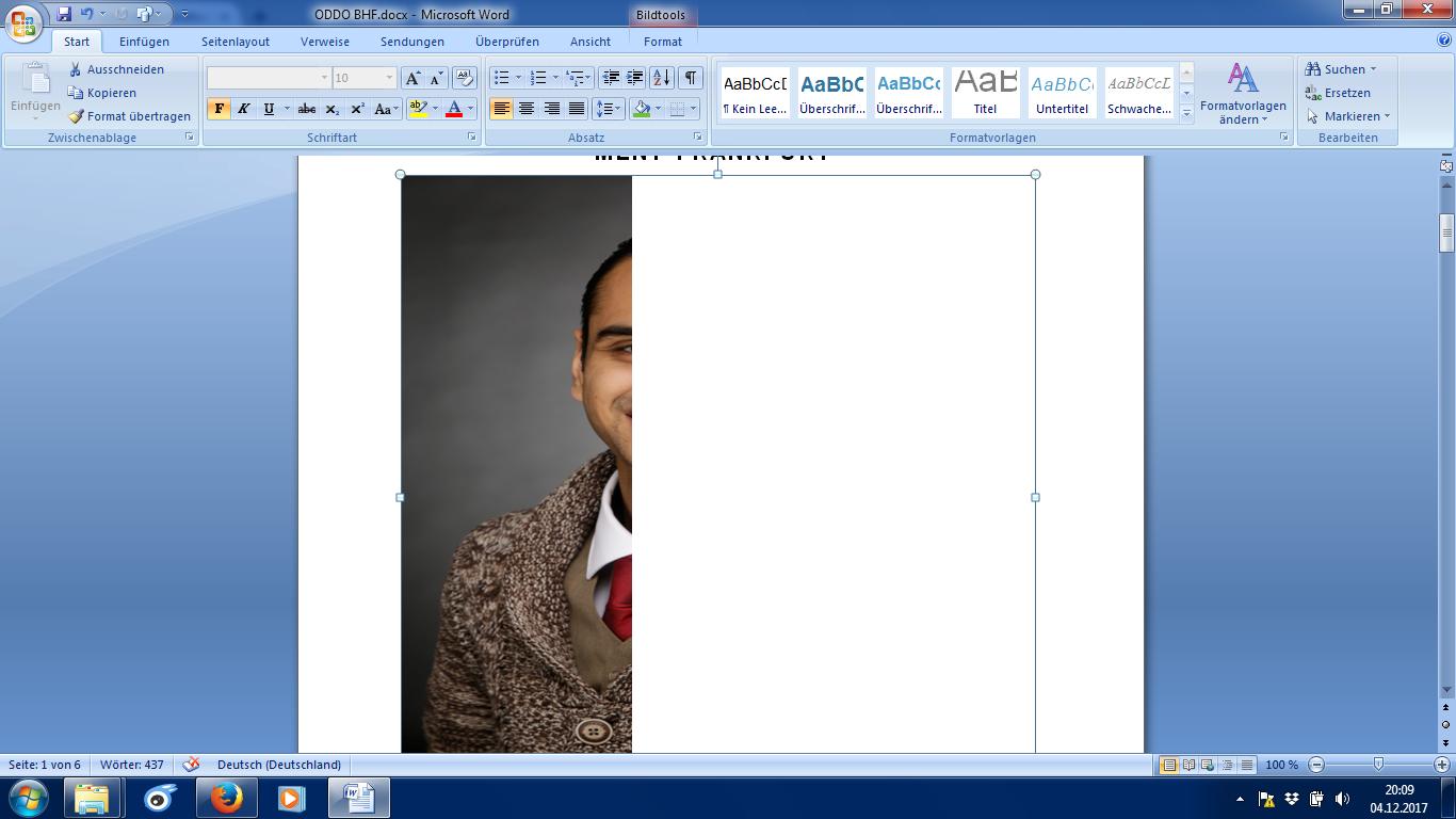 Tolle Formatieren Einer Zusammenfassung In Word 2007 Bilder ...