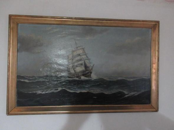 Schiff - (Wert, Künstler, Malerei)