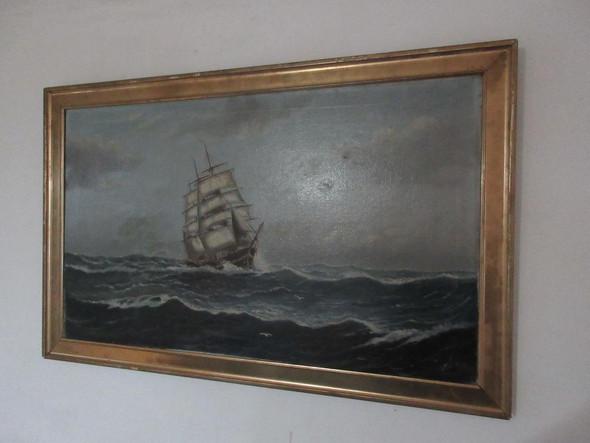 Schiff 2 - (Wert, Künstler, Malerei)
