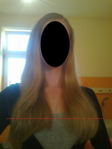 meine Haare momentan :) - (Haare, Bilder, Frisur)