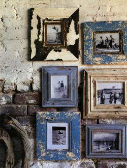 Bilderrahmen vintage selber machen  Bilderrahmen im Vintage-Look (Haus, Farbe, wohnen)