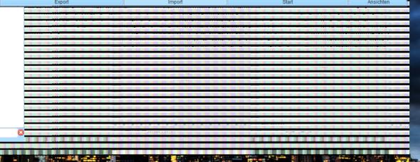 So sieht das Flackern aus - (Bildschirm, PC-Problem, Bildschirm kaputt)