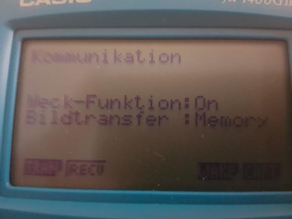 - (Taschenrechner, casio fx7400GII)