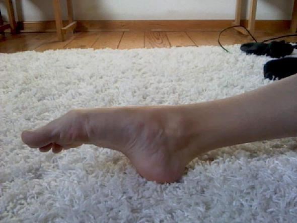 Mein Fuß - (tanzen, Füße, Tanz)
