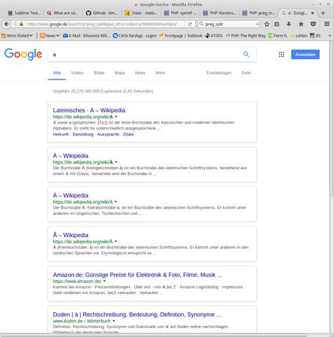 so sieht google aus - (Google, Aussehen)