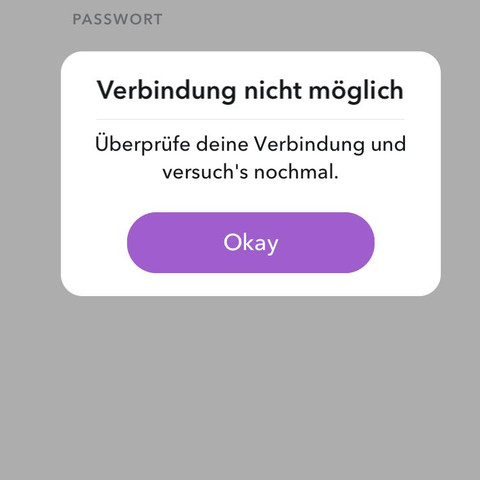 Login funktioniert nicht - (iPhone, App, ios)