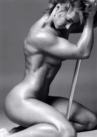 01 - (Frauen, Fitness, Muskeln)