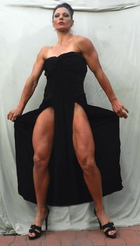 02 - (Frauen, Fitness, Muskeln)