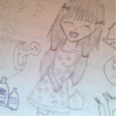 kritzeleein in der schulexD - (Manga, zeichnen, begabungxD)