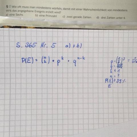 Wie funktioniert die Binomialverteilung mit fehlender Wahrscheinlichkeit?